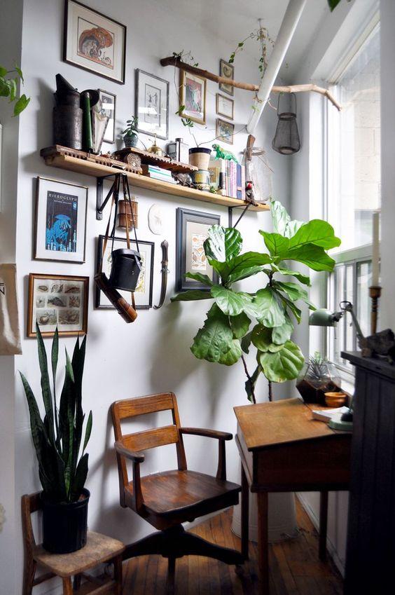 petit coin bureau elegant