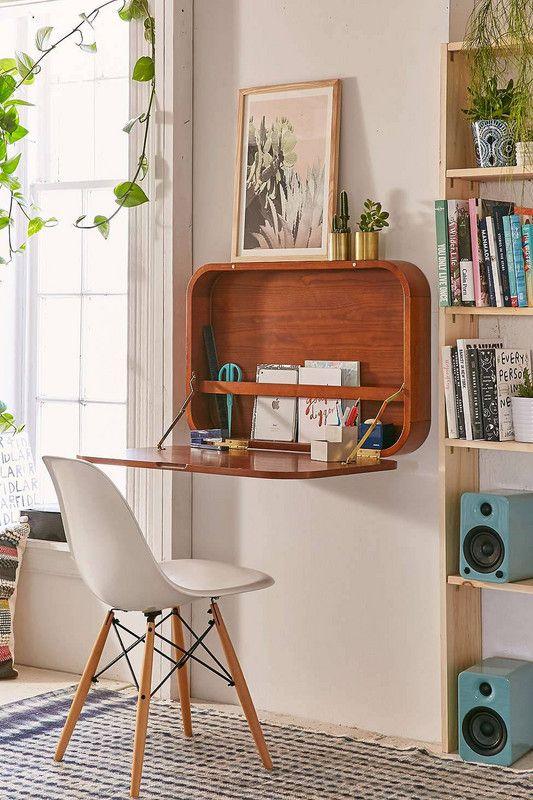 meuble bureau d'appoint repliable