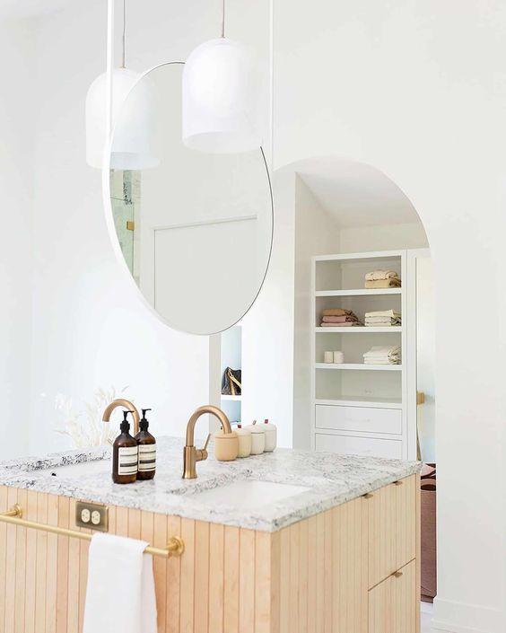 double vasque en ilôt, lavabo, lavabo dans chambre, lavabo chambre à coucher, chambre de bain