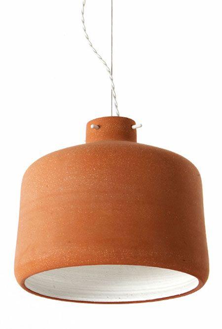 abat-jour en céramic, ceramic celing lamp, lampre terre cuite, lampe en céramique, lampe en poterie,