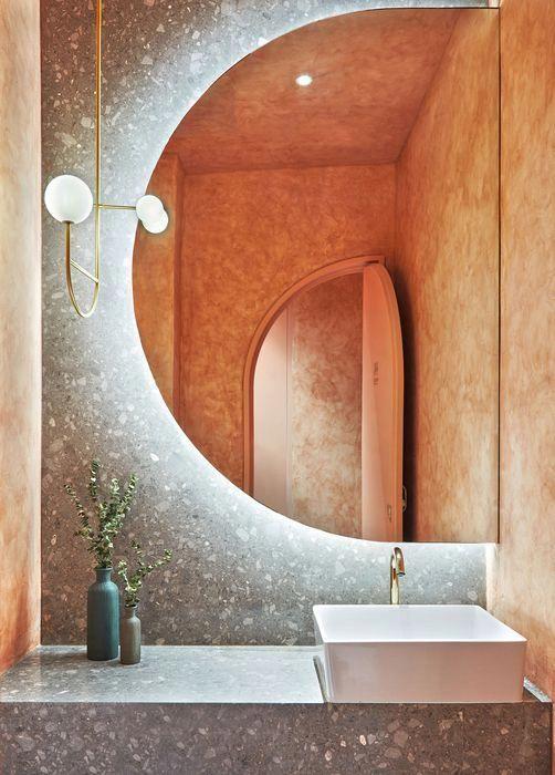salle de bain terrazzo