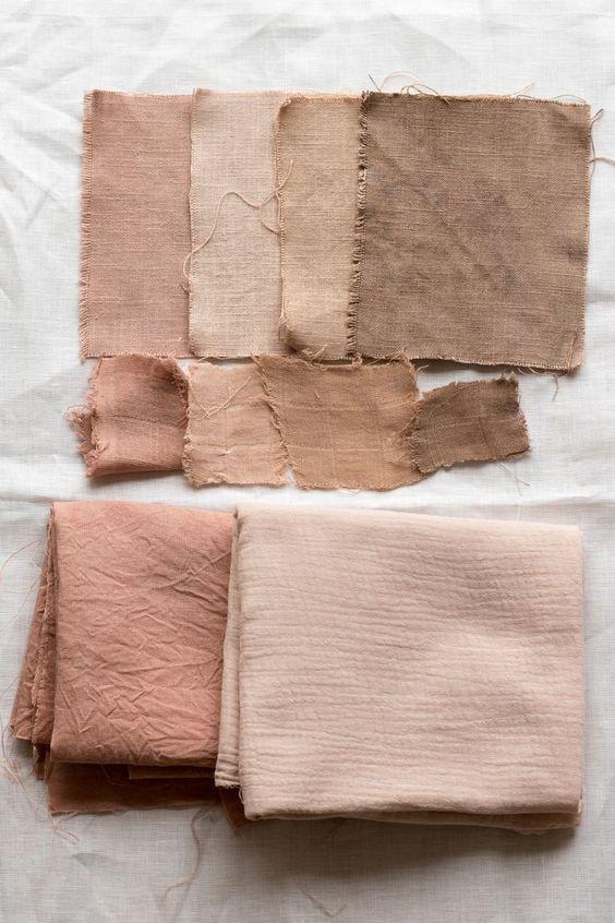 linge de lit terracota, housse de couette couleur terracotta, housse de couette en lin couleur terracotta, housse de couette en lin brun, chambre couleur terracotta, teinture végétale