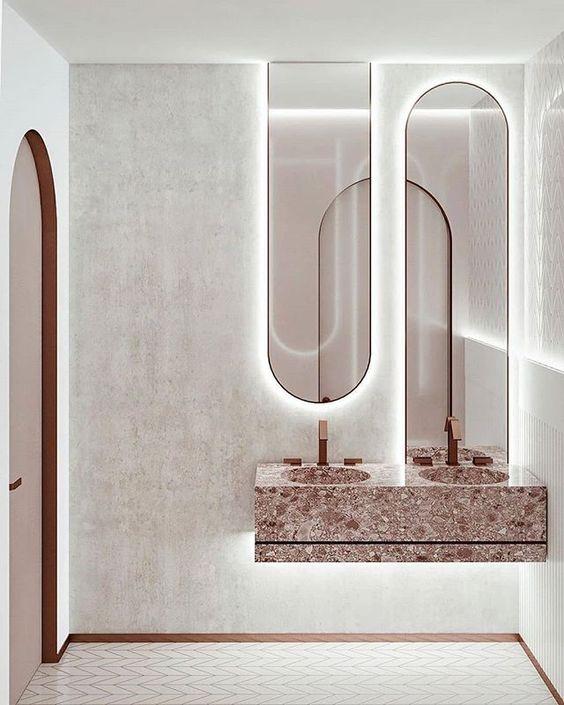 salle de bain miroir, miroir salle-de-bain
