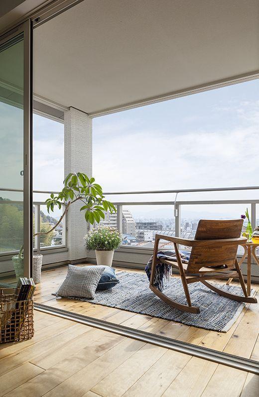 terrasse moderne, déco terrasse contemporaine, déco balcon moderne