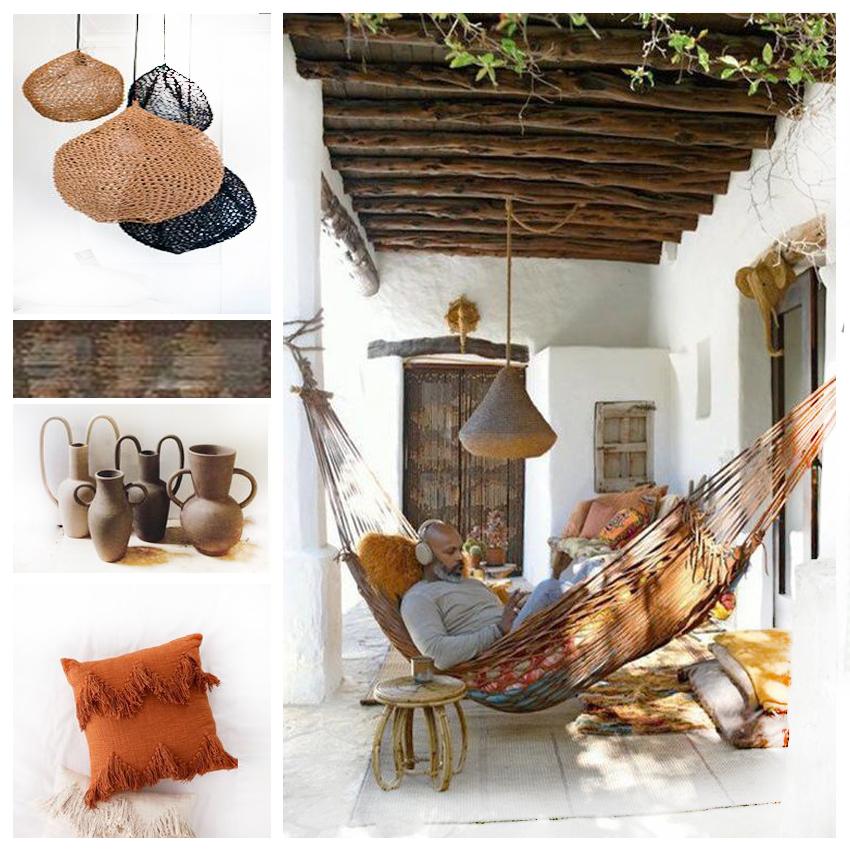 installer un hamac, décoration jardin